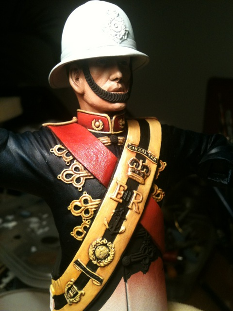 Wip Cgs Royal Marines Drum Major In Quick Time