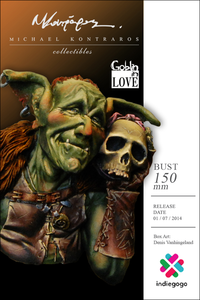 Michael Kontraros Collectibles Goblin in Love Bust Scale 1//12