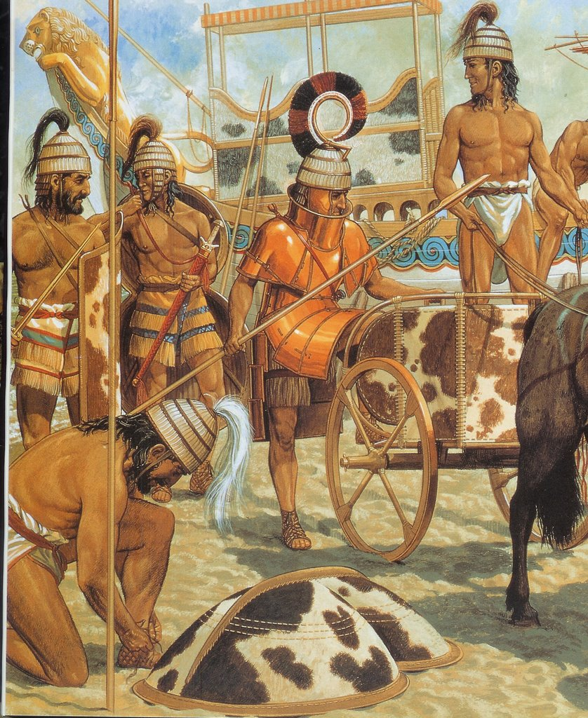 Open Book Mycenaean Warrior From Altores Studio