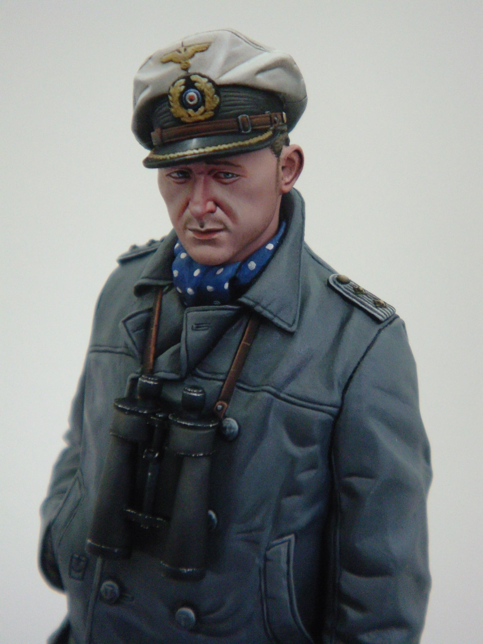 """Alpine Miniatures 1/16th U-Boat Captain """"Auf Wiedersehen ..."""