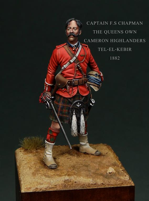 Razor Side By Side >> Completed - Captain F.S Chapman. Tel-El-Kebir 1882 | planetFigure | Miniatures
