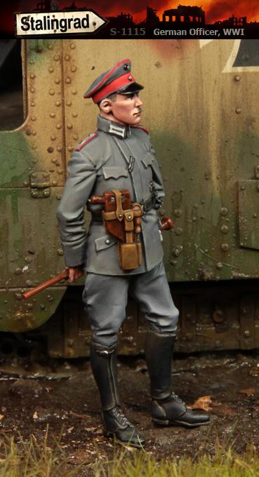 1//35 Scale resin figure Kit British Tank Crewman WWI//WW1 #3