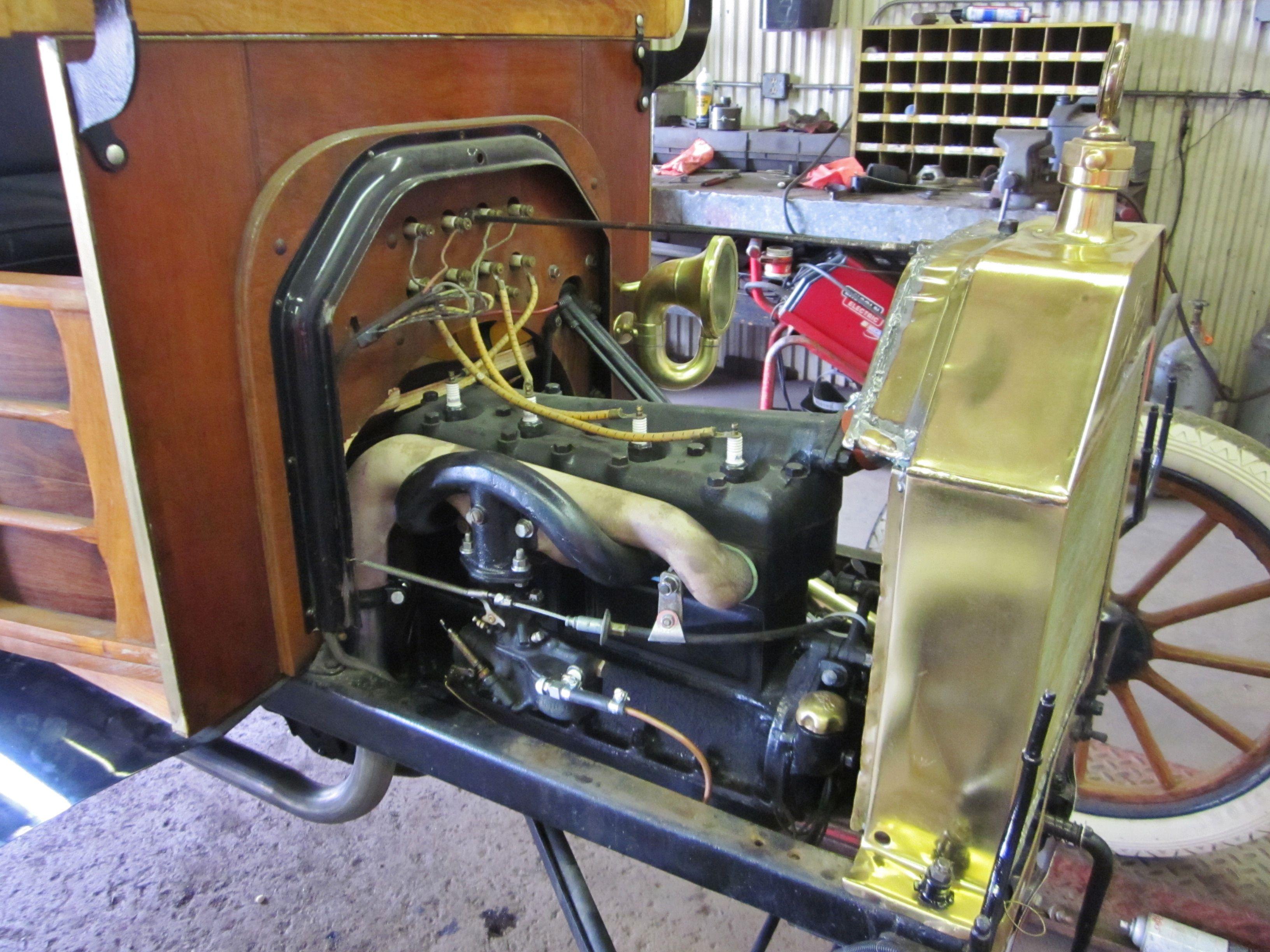 model a engine in model t