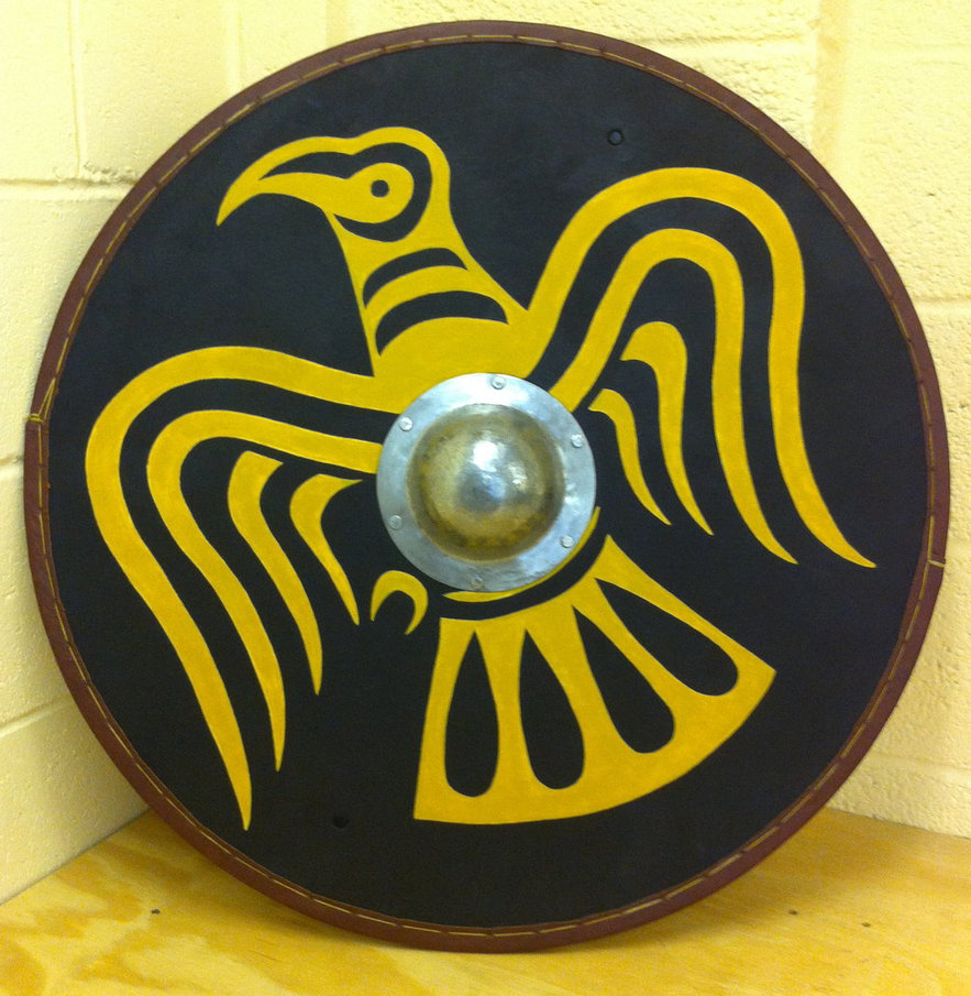 how to make a viking shield ks2