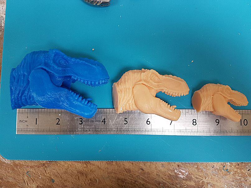 Trex SLA and PLA printing | planetFigure | Miniatures
