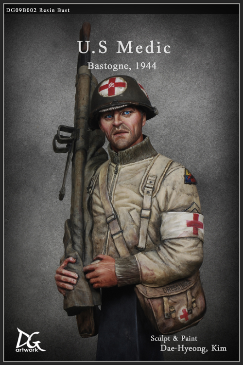 Review - WW2 US Medic from DG Artwork | planetFigure