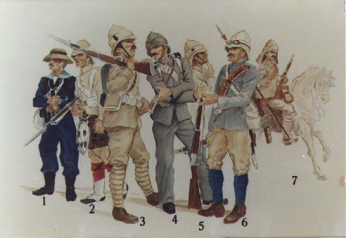 Review Guards Camel Corps From Grenadier Miniatures