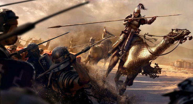 Diario semanal de desarrollo de Bannerlord 27: Caballería a Camello - Página 2 Camel-catraphatari-jpg