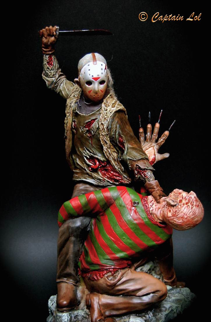 Freddy Vs Jason Planetfigure Miniatures