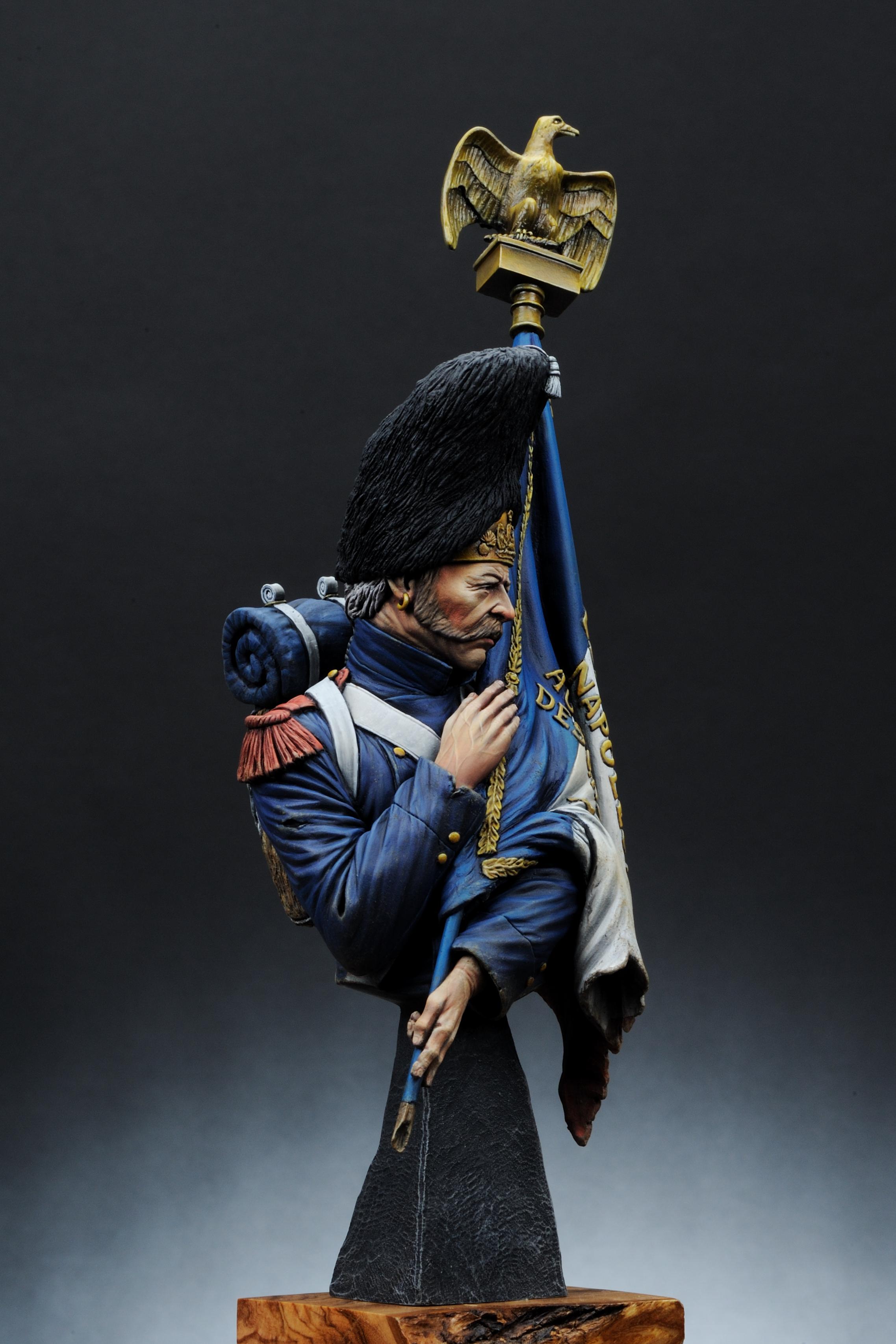 Cgs Box Art Imperial Guard 1815 By Man Jin Kim