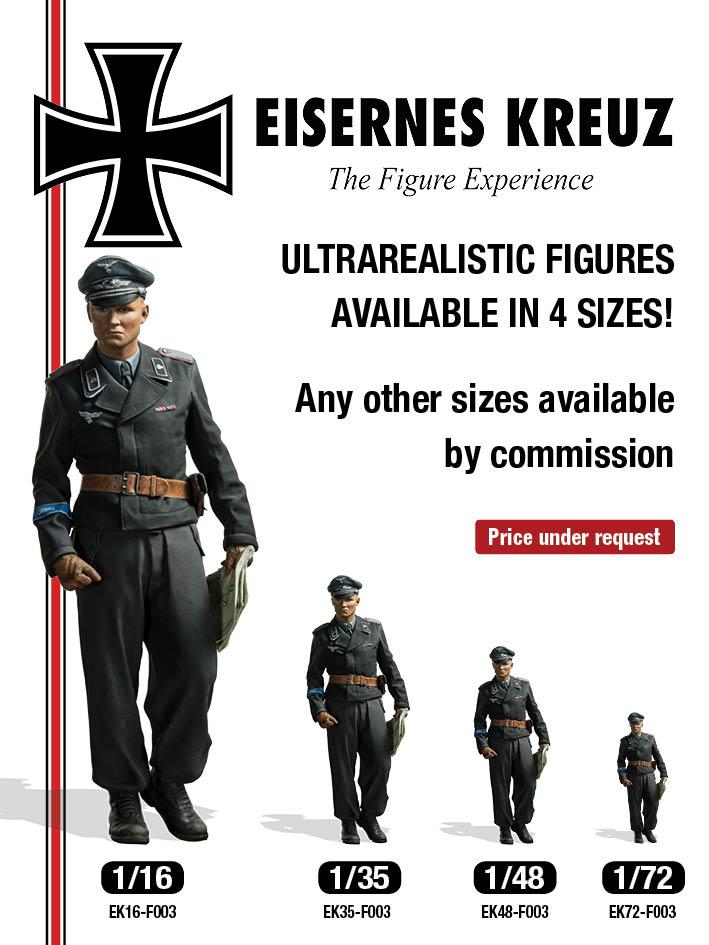 """Herman Göring"" Panzer Leutnant, 1943 (1/16 - 1/35 - 1/48 ..."