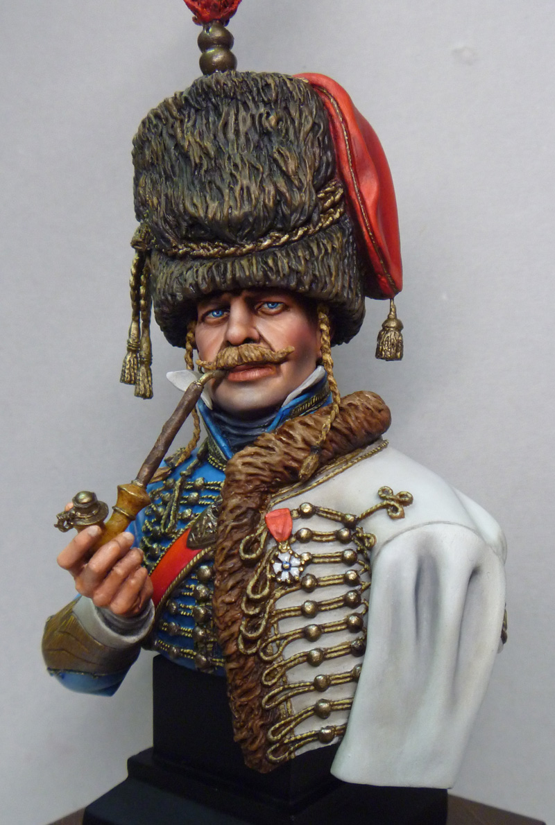 completed critique  10 french hussar