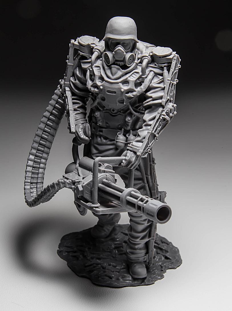 "New Country Mini >> Exoskeleton ""Rhino"" Sci fi mini in 75 mm scale ..."