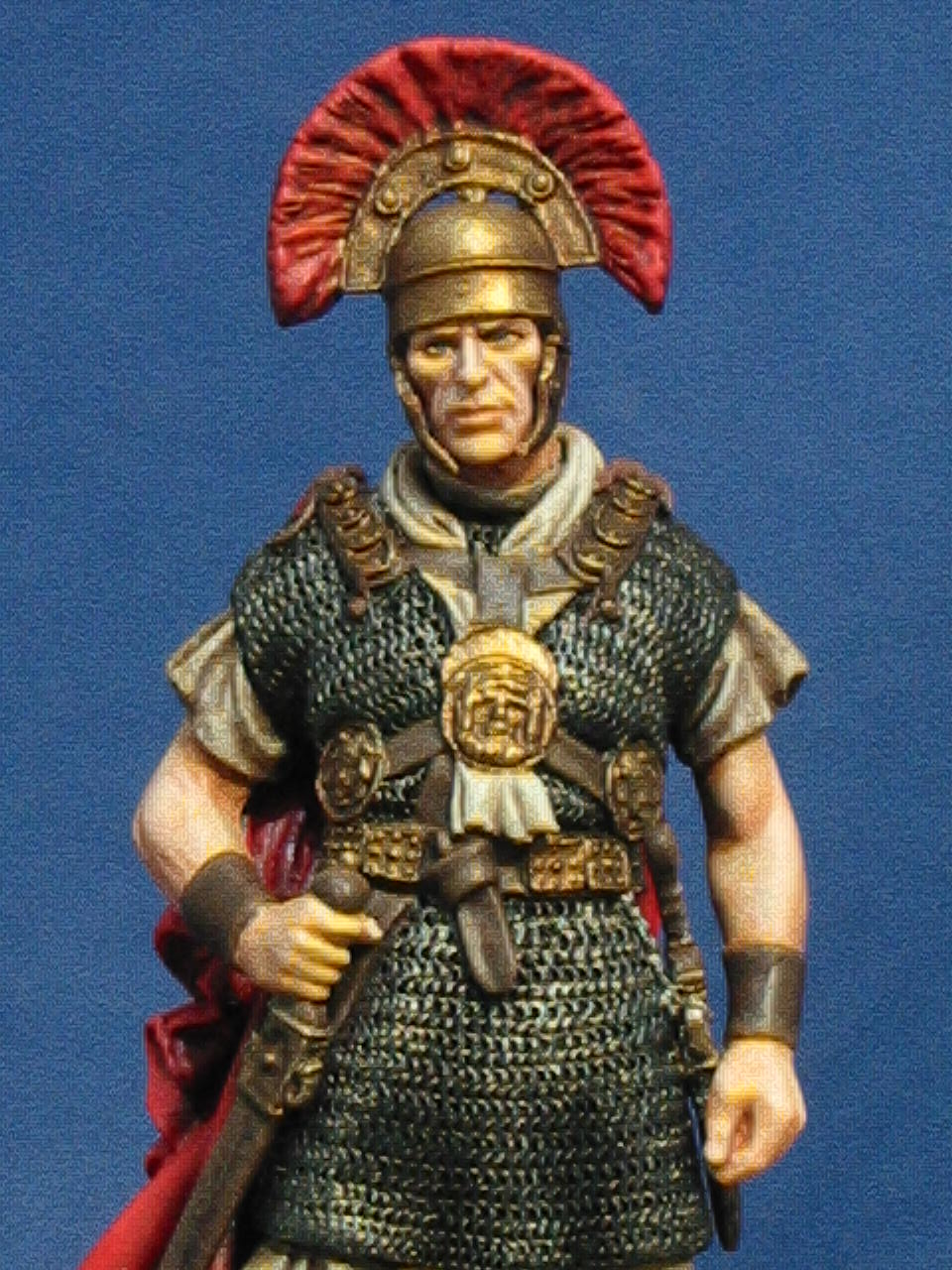 """New Country Mini >> WIP Critique - Centurion Lucius Vorenus, """"Rome"""" mini ..."""