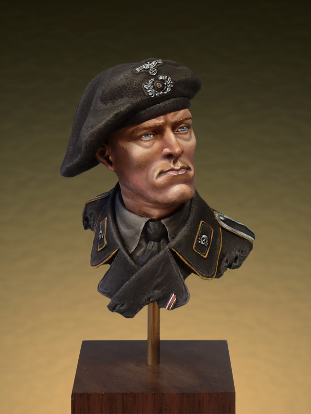 Completed - Panzerspahman  Castle Miniatures  Resin Bust 1/10