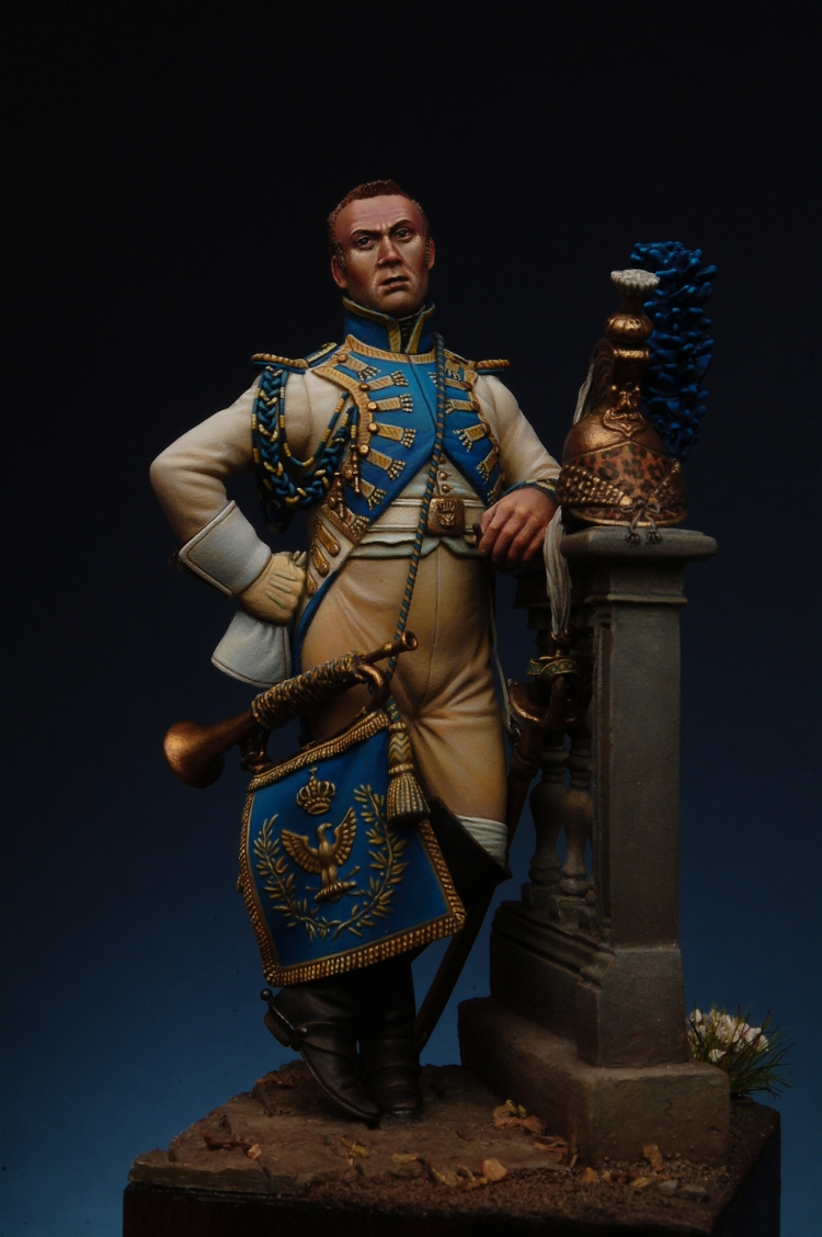 Trumpeter Of The Empress' Dragoons (54mm) Uno_prova_web-jpg